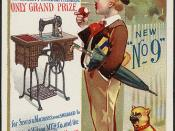 New 'No 9' Wheeler & Wilson triumphant!! At the Exposition Universelle, Paris 1889. The highest possible premium, the only grand prize for sewing machines was awarded to Wheeler & Wilson M'f'g Co. and the Cross of the Legion of Honor was conferred on the