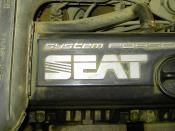 English: SEAT System Porsche engine