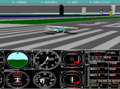 FS 4.0 – Now with dynamic scenery, more detailed roads, bridges and buildings. Allowed users to design their own aircraft.