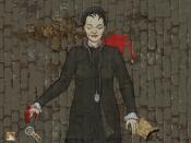 Français : Capture d'écran du jeu Sherlock Holmes contre Jack l'Éventreur. Dessin d'Elizabeth Stride, troisième victime attribuée à