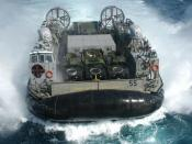 Some vessels, like the LCAC, can operate in a non-displacement mode.