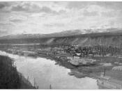 The original caption read: White Horse, Yukon Territory; Case and Draper