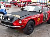 1971 Datsun Fairlady 240Z, the winning car of 19th East African Safari Rally