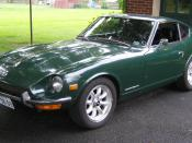 English: 1971 Datsun 240Z in 907 Racing Green