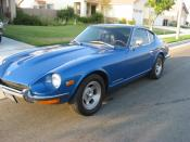 English: an orginal 1971 Datsun 240Z