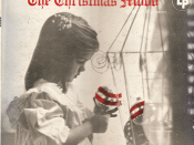 Original cover of The Christmas Mood, on which 12 of the Burt carols first appeared