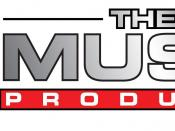 English: The Music Producer Logo