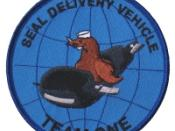 English: Seal Delivery Vehicle Team One SDVT-1 Insignia