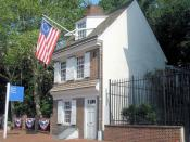 English: Betsy Ross House in Philadelphia Category:Images of Philadelphia