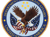 The seal of the U.S. Department of Veterans Affairs uses the Betsy Ross flag to represent service to all veterans from the American Revolution to the present day.