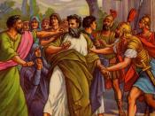 English: Saint paul arrested