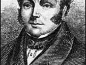 an engraving of Feargus O'Connor