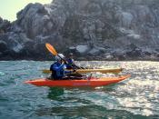 Norma Wightman , Paul O'Conner, kayaking kayak-morro-rock-rouv-norma-paul-mike-7