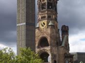 the Kaiser Wilhelm Memorial Church in Berlin-Charlottenburg.