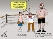English: Israel vs. Arabs