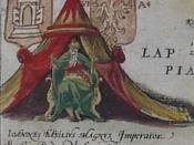 Latina: Ioannes Basilius Magnus Imperator Russic, Dux Moscovic Русский: Иоанн Васильевич Великий Император Руссии, Герцог Московский