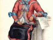 Tshusick, an Ojibway woman by Charles Bird King, Published ca. 1836-44 by Rice, Rutter & Co., Philadelphia.. SI.1990.018 H.10 1/4