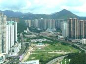 English: View of Tseung Kwan O on a sunny day