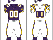 Minnesota Vikings uniform: 1996–2005
