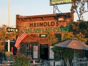 English: Heinold's First and Last Chance a last chance saloon in Jack London Square, Oakland, CA.