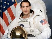 Astronaut James H. Newman