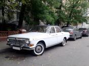 Volga GAZ-24 taxi edition.