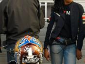 James Cracknell and Janie Omorogbe with Suzuki @ Brands Hatch Round 12 of the British SuperBike/SuperSport Championship.