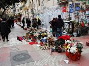 Greece Riots - Memorial for Alexandros Grigoropoulos