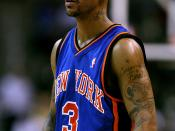 English: Stephon Marbury, New York Knicks