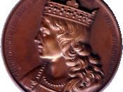 Childebert III, roi de Bourgogne et Neustrie et de Clotilde