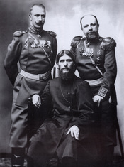 Grigory Rasputin, Major General Putyatin and Colonel Lotman