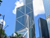 HK Bank of China Tower 中銀大廈 (香港), designed by I. M. Pei