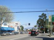 English: Village of Sherman Oaks - Van Nuys Blvd. at Ventura