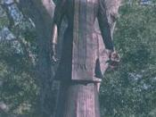 Statue of Eunice Pharr Duson