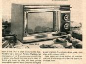 1972 Amana Radarrange Advertising US News & World Report December 4 1972