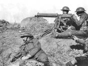 The Vickers was the successor to the Maxim gun and remained in British military service for 79 consecutive years.