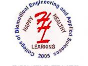 English: College of biomedical engineering and applied sciences logo