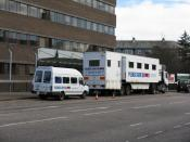 English: Mobile Blood Transfusion Service A collection at an office work place on Queensferry Road, Orchard Brae