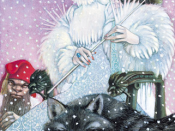 Jadis, the White Witch of Narnia. Art by Leo and Diane Dillon