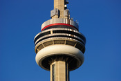 English: Main Pod of the CN Tower in Toronto, Canada Deutsch: Turmkorb des CN Tower in Toronto, Kanada