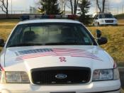 Hopewell Police Car Front