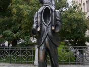 Kafka Invisible Man Monument