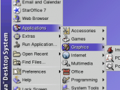 English: Screenshot of a portion of the Java Desktop System's desktop Category:Screenshots of Linux software