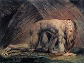 Nebuchadnezzar, by William Blake