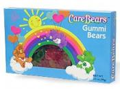 A gummi bear box with the early 2000s style Care Bears