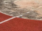 """""""鉛球之圓 Shot Put's Circle"""" / 體育運動指示形之界 Sports Signage Forms Division / SML.20130303.7D.25336"""