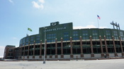 English: Exterior image of Lambeau Field, home of the Green Bay Packers