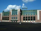 The new Lambeau Field soon after renovation was completed. Photo taken on 29 July 2003 by Paul Kucher. Category:Images of Wisconsin