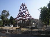 Rambam's (Maimonides) grave compound in Tiberias, Israel.מתחם קבר הרמב