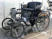 The Arnold was based on the Benz Velo (pictured)